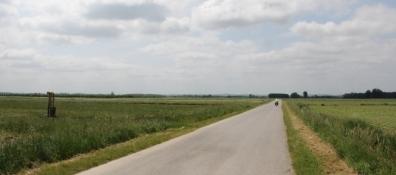 Weites Land zwischen Rogovac und Bušetina
