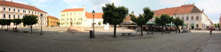 Hauptplatz der ehem. Festung Osijek