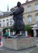 Osijek, Ante Starčević-Denkmal
