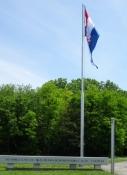 Eingang zum Gedenkfriedhof des Unabhängigkeitskrieges
