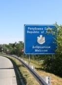 Ankunft in Serbien