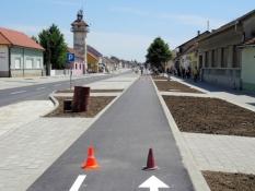Straßenerneuerung in Futog