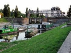 Schleuse des Großen Batschka-Kanals in Bečej