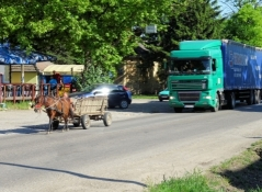 Lastentransport in Bačko Gradište
