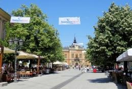 In der Altstadt von Novi Sad