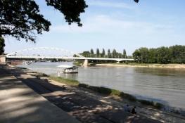Am Theiß-Ufer in Szeged