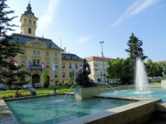 Rathaus in Szeged