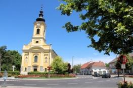 Kirche in Tiszakécske