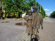 Platz am Rathaus in Szolnok