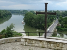 Zusammenfluss von Theiß und Bodrok in Tokaj