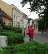 Hauptstraße in Tokaj