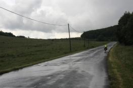 Kurz vor der Grenze zur Slowakei