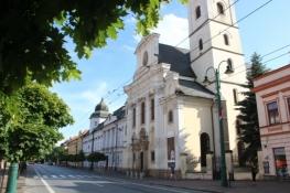 Kathedrale und Bishofspalast der griechisch katholischen Diozöse Prešov