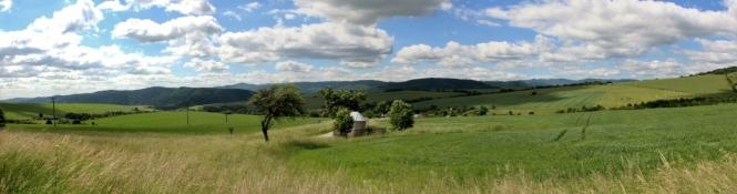 Landschaft bei Kurov