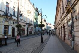 Fußgängerzone in Nowy Sącz