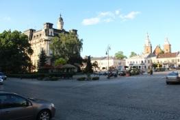 Hauptplatz in Nowy Sącz
