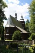 """Holzkirche """"Kościół Podwyższenia Krzyża Świętego"""" in Podole-Górowa"""
