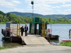 """Fähre über den """"Jezioro Czchowskie"""""""