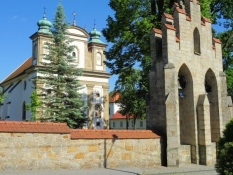 Kirche in Nowy Wiśnicz