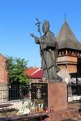 Statue von Johannes Paul II in Bochnia