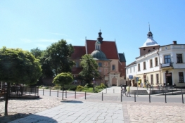 Hauptplatz in Niepołomice