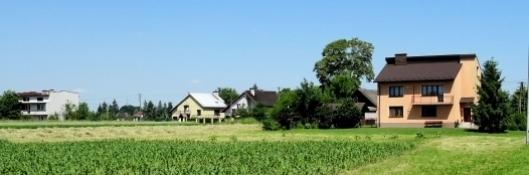 Dorf zwischen Niepołomice und Pleszów