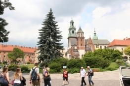 Wawel mit Kathedrale
