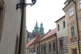 Blick aus der Kanonicza auf die Kathedrale