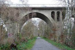 Springorum-Bahntrassen-Velo-Weg in Bochum-Munscheid