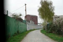Zeche Carolinenglück an der Erzbahntrasse in Bochum