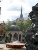 Kogende springvand og stedet, man kan tappe vandet/A boiling fountain and a ʺhot water tapʺ