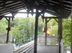 Den gamle bane op til Neroberg/The old railway up Nero hill