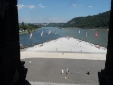ʺDet Tyske Hjørneʺ ved Mosels udløb i Rhinen/ʺThe German Cornerʺ at the Moselʹs mouth
