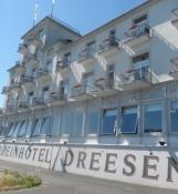 Det fornemme gamle hotel Dreesen syd for Bonn/The noble old hotel Dreesen south of Bonn