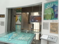 Museets udstilling om OL i München 1972/The museum exhibition about the Olympics in Munich 1972
