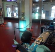 I denne bil blev Michael Schumacher Formel 1-verdensmester/Michael Schumacherʹs Formula 1-race car