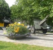 Mindesmærke for slaget om broen ved Arnhem 1944/Memorial for the battle of Arnhem 1944