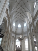 Hovedskibet i Eusebius-kirken i Arnhem/The nave of the Eusebius church in Arnhem
