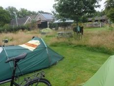 Perfekt stille campingstemning i Leersum/Perfect quiet camping atmosphere at Klein Groenbergen