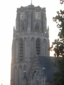 Sint Laurenskerk er Rotterdams hovedkirke/Rotterdamʹs main church is called Saint Laurensʹ church