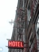 Slutmålet: Bicycle Hotel i kvarteret De Pijp/Final destination: Bicycle Hotel in the quarter De Pijp