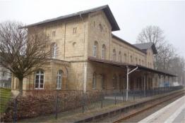 ex-Bahnhof in Bad Driburg