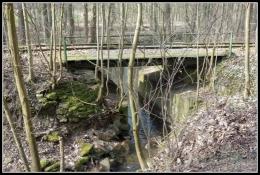 ex-eisenbahn-Brücke in Kirchbrak