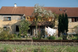 Dorfbild in Medard