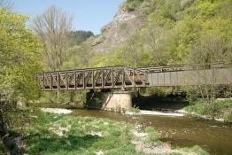 Eisenbahn-Brücke in Bärenbach-Niederreidenbacherhof