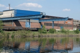 Industrielandschaft in Saarbrücken-Burbach