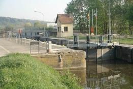 Saar-Schleuse in Grosbliederstroff