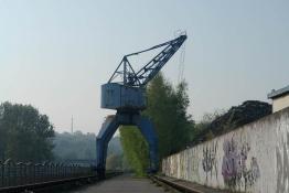 ex-Kran in Kleinblittersdorf