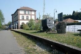 ex-Bahnhof in Gersheim