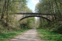 ex-Eisenbahn-Brücke in Gries (Bahntrassenradweg)